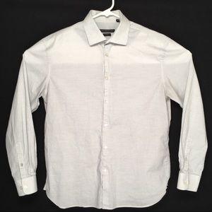 John Varvatos slim fit button up long sleeve shirt